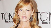 2011 Tony Awards Red Carpet  Marg Helgenberger