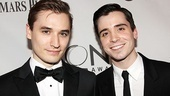 Representing War Horse are Seth Numrich and Matt Doyle.