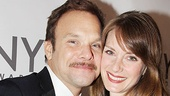 2011 Tony Awards Red Carpet  Norbert Leo Butz - Michelle Federer