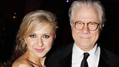 Born Yesterday nominee Nina Arianda joins How to Succeed winner John Larroquette.