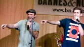 "Tony winner Norbert Leo Butz joins Aaron Tveit on the swinging duet ""Strange But True."""