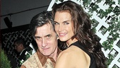 Roger Rees and Brooke Shields show off their tango skills.