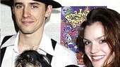 Puppy love! Rumored Spider-Man couple Reeve Carney and Jennifer Damiano show off their new friends.