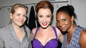 Three golden-voiced divas! Renee Fleming, Master Class star Sierra Boggess and play alum Audra McDonald. 
