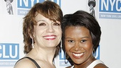 Baby, It's You! co-stars Beth Leavel and Christina Sajous are glad to spend their night off helping out a good cause.