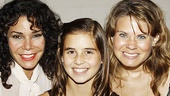 Daphne Rubin-Vega and Celia Keenan-Bolger sandwich Wonderlands Carly Rose Sonenclar.