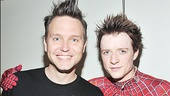 What's my age, again? Mark Hoppus of Blink 182 felt like an excited child while watching Spider-Man's Matthew James Thomas soar through the Foxwoods Theatre. 