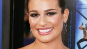 Lea Michele has plenty to smile about: Glee is now on the big screen!