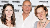 <i>Man and Boy</I> meet and greet – Virginia Kull – Frank Langella – Francesca Faridany