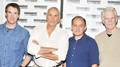 <i>Man and Boy</I> meet and greet –Brian Hutchison – Frank Langella – Zach Grenier – Michael Siberry