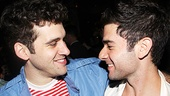 Mark, meet Mark! Revival star Adam Chanler-Berat pals around with Adam Kantor, the last actor to play Mark in the original Broadway production.