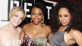 Opening night of &lt;i&gt;Rent&lt;/i&gt; - Morgan Weed  Tamika Sonja Lawrence  Margot Bingham 