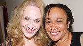 Jan Maxwell, who plays the glamorous Phyllis in Follies, gets close to Law & Order vet S. Epatha Merkerson.