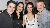 Addams headliners Roger Rees, Sarah Gettelfinger, Brooke Shields and Douglas Sills come together for a family portrait. Be sure to catch Rees and Shields in action on Broadway or Gettelfinger and Sills on the road beginning September 15.