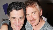 Proud papas! The two Gomezes, Roger Rees and Douglas Sills, snap a photo together.