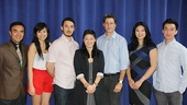 Chinglish Meet and Greet - Larry Lei Zhang - Angela Lin - Stephen Pucci - Jennifer Lim - Gary Wilmes - Christine Lin - Johnny Wu