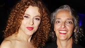 &lt;i&gt;Follies&lt;/i&gt; opening night  Bernadette Peters - Patty Saccente  