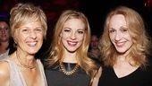 &lt;i&gt;Follies&lt;/i&gt; opening night  Virginia Sandifur  Kirsten Scott  Jan Maxwell 