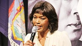 Angela Bassett, who plays a maid named Camae, tells students never to lose passion for their craft.