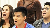 Godspell meet  Anna Maria Perez de Tagle  Lindsay Mendez- Telly Leung  George Salazar  Uzo Aduba