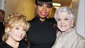 Follies star Elaine Paige, Jennifer Hudson and Angela Lansbury are more than happy to give their time to the American Theatre Wing. 