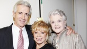 Gala guests James Naughton and Angela Lansbury sandwich Follies' Elaine Paige.