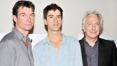 As aspiring novelists, Jerry O'Connell and Hamish Linklater must steel themselves for criticism from the literary lion played by Alan Rickman.