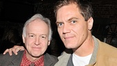 Stage veteran and Boardwalk Empire star Michael Shannon enjoys the evenings festivities alongside Dreams of Flying Dreams of Falling star Reed Birney.