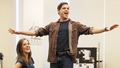 &lt;i&gt;Bonnie &amp; Clyde&lt;/i&gt; meet and greet  Jeremy Jordan - Laura Osnes 