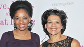 Love, Loss alums Roslyn Ruff and Sonia Manzano smile for our camera on the show's big night.