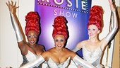 Priscilla Divas Anastacia McCleskey, Jacqueline B. Arnold and Ashley Spencer strike a pose backstage.