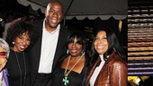 Mountaintop opens  Ruby Dee- Pauletta Washington  Magic Johnson  LaTanya Richardson Jackson - Cookie Kelly