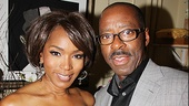 After a powerful opening performance, Angela Bassett gets some spousal support from hubby Courtney B. Vance.