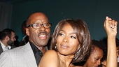 Angela Bassett hits the dance floor with her husband Courtney B. Vance.