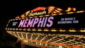 Memphis national tour launch  marquee
