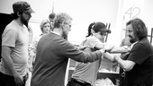 &lt;i&gt;Bonnie &amp; Clyde&lt;/i&gt; Rehearsal  Louis Hobson  Steve Rankin - Jeremy Jordan  Tad Wilson 