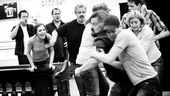 &lt;i&gt;Bonnie &amp; Clyde&lt;/i&gt; Rehearsal -  Laura Osnes  Tad Wilson  Jeremy Jordan 