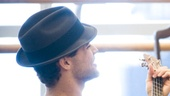&lt;i&gt;Bonnie &amp; Clyde&lt;/i&gt; Rehearsal -  Jeremy Jordan  Laura Osnes