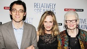 <i>Relatively Speaking</i> Opening Night – Max Gordon Moore – Lisa Emery – Patricia O'Connell
