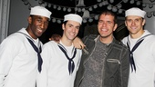 Perez Hilton at &lt;i&gt;Anything Goes&lt;/i&gt; - Anthony Wayne  Clyde Alves  Perez Hilton  Adam Perry 