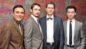 <i>Chinglish</i> Opening Night – Larry Lei Zhang – Stephen Pucci – Gary Wilmes – Johnny Wu