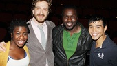 Godspell reunion  Uzo Aduba  Daniel Goldstein  Joshua Henry  Telly Leung