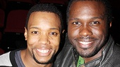 Godspell reunion- Wallace Smith  Joshua Henry