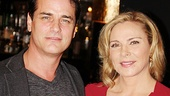 Paul Gross and Kim Cattrall star as Elyot and Amanda, the divorced couple who rekindle their love in Private Lives.