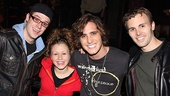 Diego Boneta at &lt;i&gt;Rock of Ages&lt;/i&gt; - Cody Scott Lancaster  Josephine Rose Roberts  Diego Boneta  TKTK