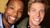 It's time to party! Judas and Jesus (aka Wallace Smith and Hunter Parrish) are ready to break some bread at their opening soiree.