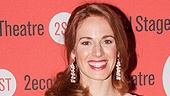 Leading lady Teal Wicks simply glows on her latest opening night. 