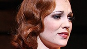 Melissa Van Der Schyff as Blanche Barrow and Laura Osnes as Bonnie Parker in Bonnie & Clyde.