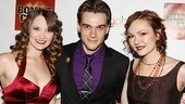 Bonnie & Clyde swings Cassie Okenka, Justin Matthew Sargent and Katie Klaus are ready to let loose at the Edison Ballroom.