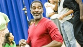 "Norm Lewis beams as he sings the Gershwin classic ""I Got Plenty of Nothing."""
